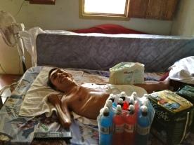 Juan Antonio bed