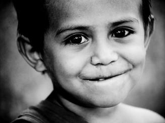 nicaraguan child smiling