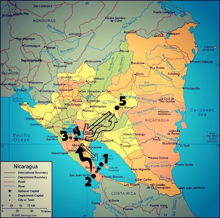 Nicaragua travel memoir