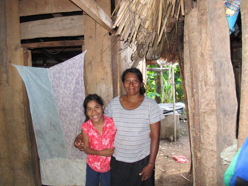 Buying a girl a bike in Nicaragua